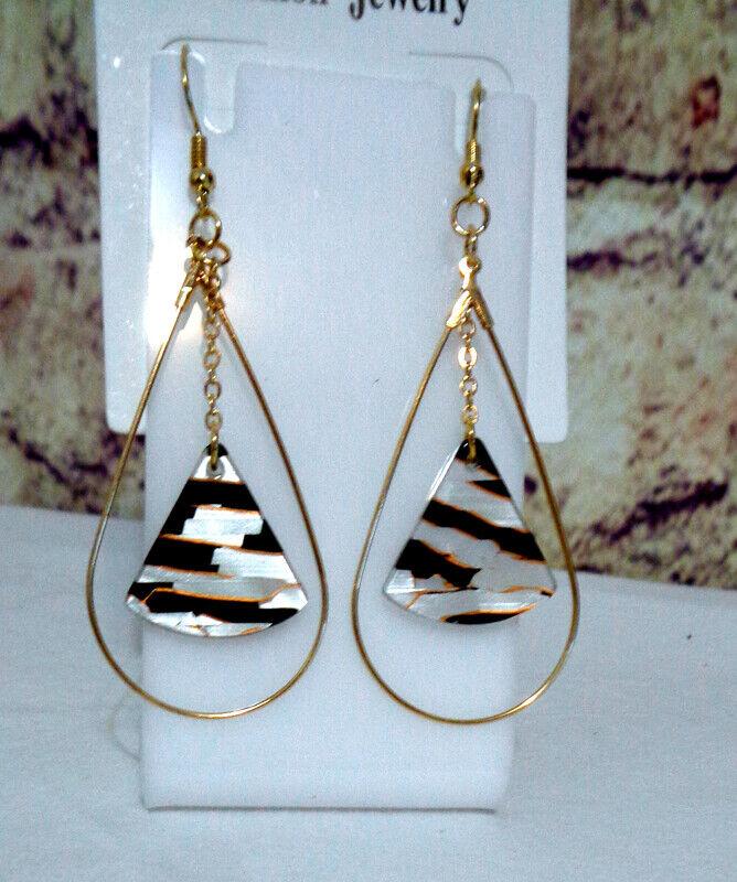 Drop Earrings with the Look of Designer Earrings