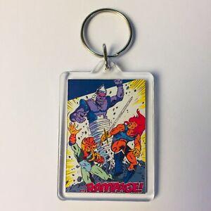 Thundercats CHEETARA Vintage Poster Fumetti portachiavi catena portachiavi