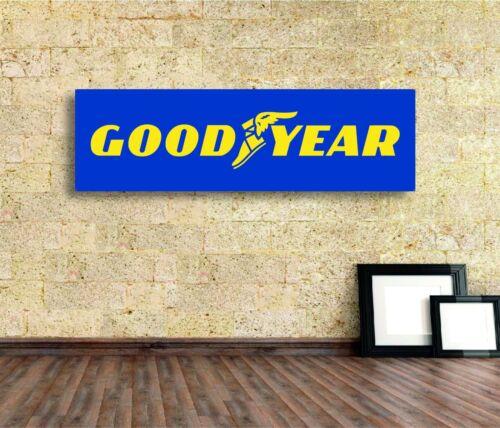 Coodyear tires Sign Vinyl Banner Flag  Garage Workshop Adversting Many Size