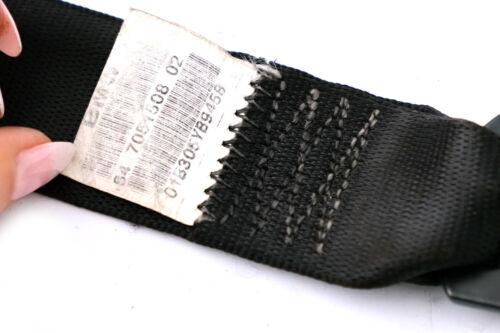 BMW série X5 E53 Siège Ceinture Ceinture de sécurité arrière droite O//S schwarz noir 7051508