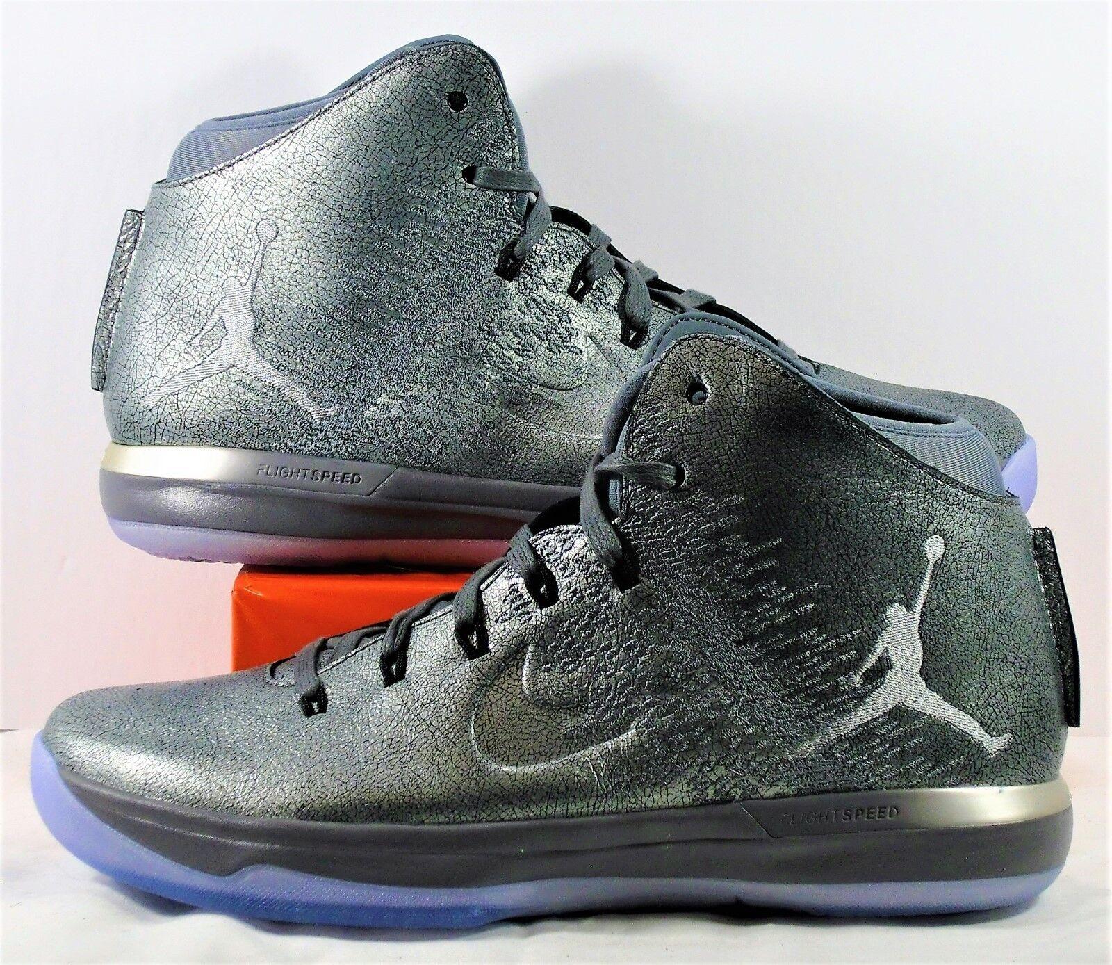 Nike Air Jordan XXXI 31 PRM Battle Cool Grey & Wolf Grey Sz 8.5 NEW 914293 013