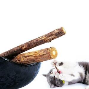 Pet-Cat-Snacks-Matatabi-Chew-Catnip-Stick-Teeth-Molar-Brush-Tool-Cleaning-A7W4