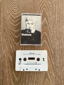 Madonna Self Titled Debut Cassette Tape 1983 Sire Records Lucky Star Borderline