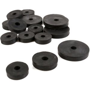 15Pc RUBBER TAP WASHERS S/M/L Plumbing Seal Buffer Packer ...