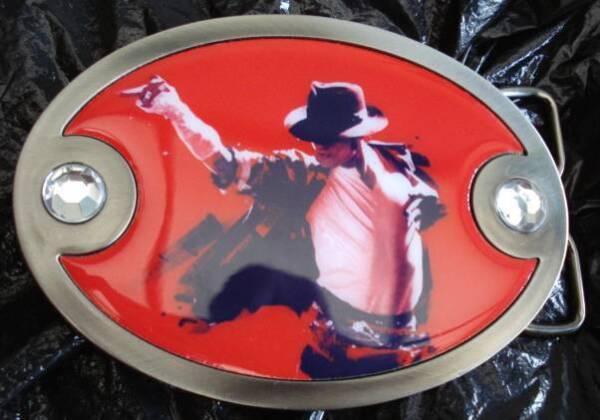 Boucle De Ceinture - Michael Jackson - Produit Officiel Garantire Un Aspetto Simile Al Nuovo In Modo Indefinibile