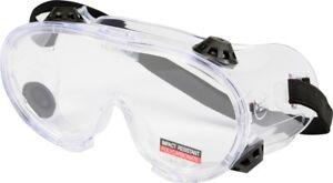 Schutzbrille klar, Arbeitsschutzb<wbr/>rille, für Brillenträger, belüftet