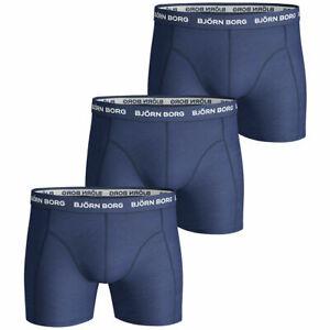 Bjorn Borg Mens BB Winter Leaf Sammy 3 Pack Soft Boxers 42/% OFF RRP