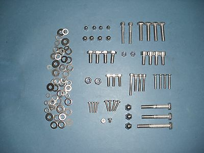 YAMAHA XS 650 XS650 SR 500 SR500 front end stainless steel A2 bolt set fork bolt