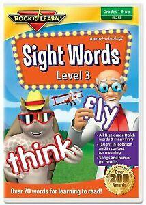 Rock N Learn Sight Words Level 3 DVD 213