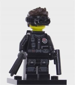 SPY SECRET AGENT 71013 FACTORY SEALED LEGO Collectible Minifigure Series 16
