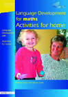 Language Development for Maths: Activities for Home by Jackie Lowe, Marion Nash (Paperback, 2004)