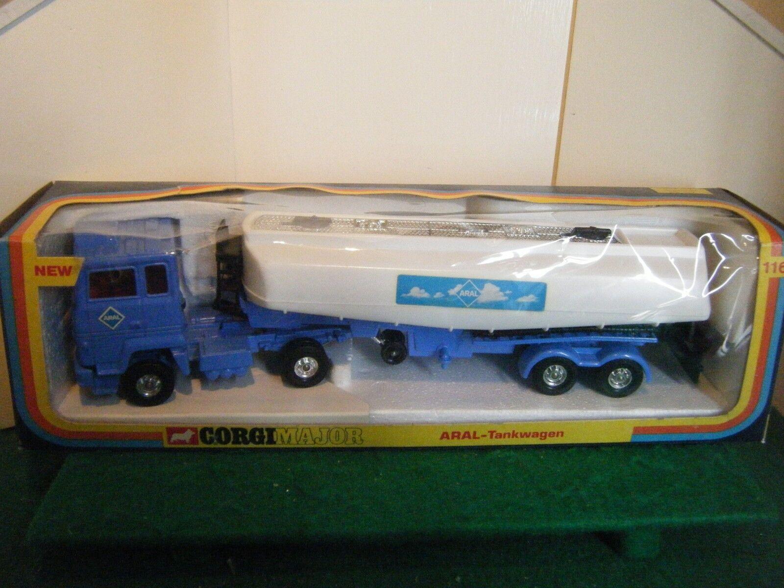 Corgi no  1161  Ford gasolina cisterna ARAL  - biancao blu (original 1975)