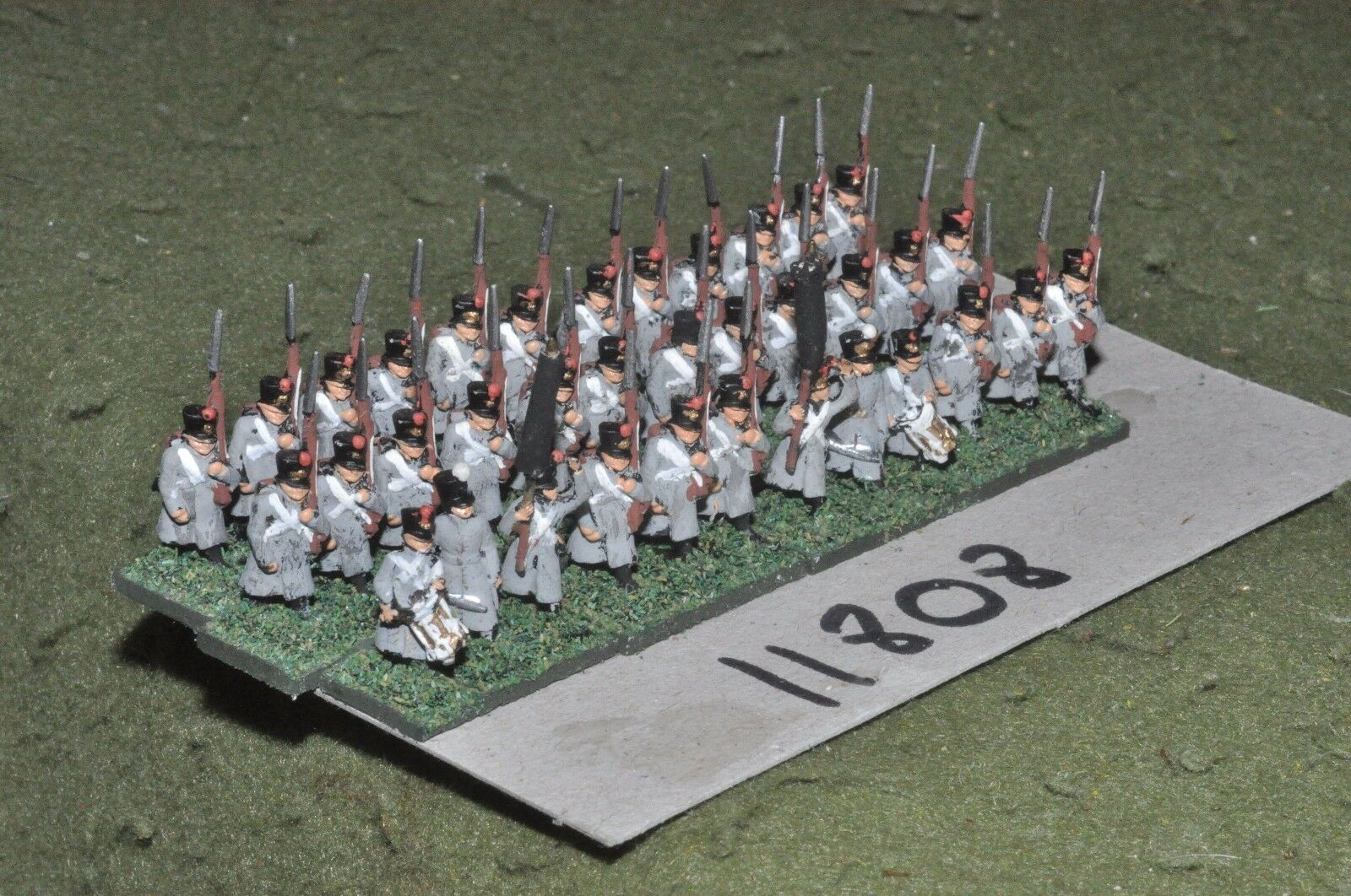 15mm napoleonic   french - infantry 36 figs - inf (11808)