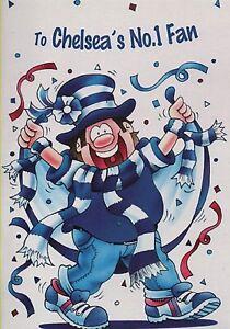 Chelsea Football Club. To Chelsea's No1 Fan. Birthday Card