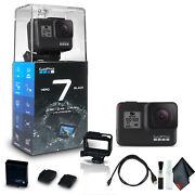 GoPro HERO7 Black - Waterproof Action Camera Base Bundle