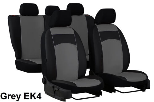 FORD RANGER MK5 2012 ONWARDS ECO LEATHER TAILORED SEAT COVERS MADE TO MEASURE