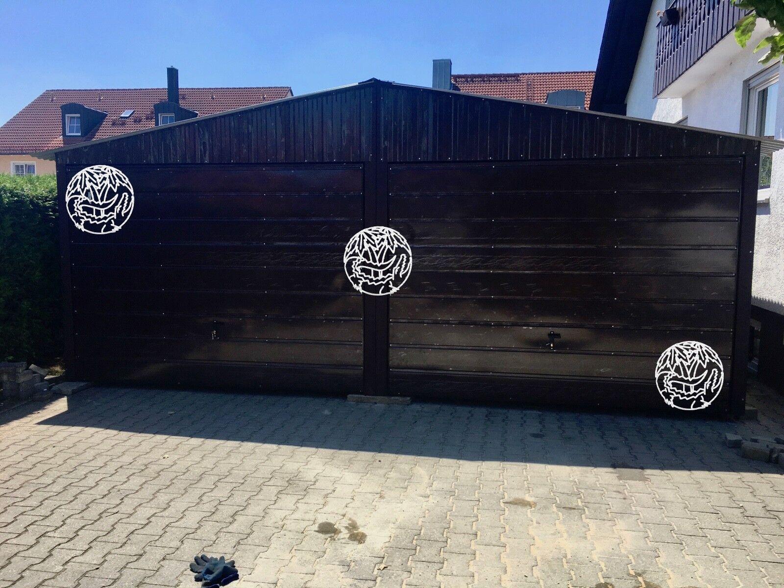 6X5 Blechgarage Fertiggarage Metallgarage LAGERRAUM GERÄTESCHUPPEN garage halle