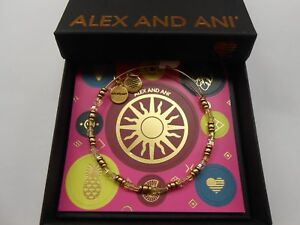 Alex-and-Ani-Coastal-Sunlight-Bangle-Bracelet-Rafaelian-Gold-NWTBC