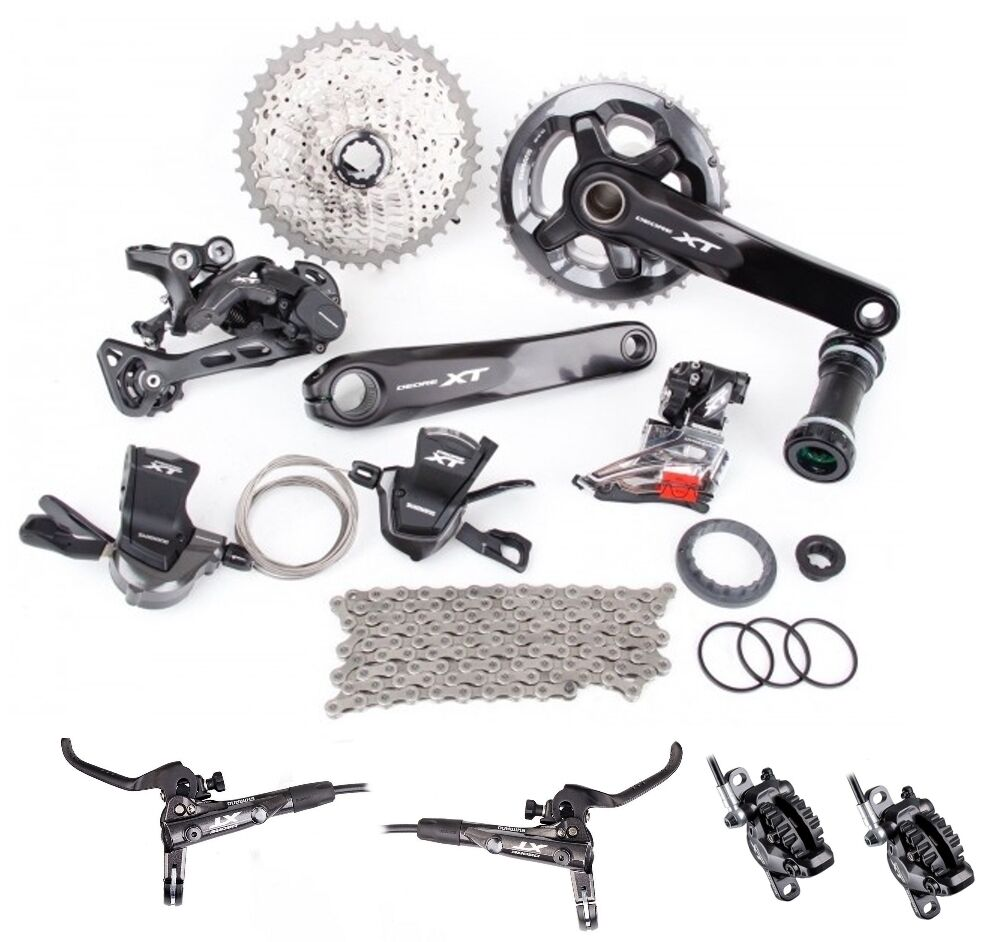 Shimano Deore XT M8000  Full Disc Brake Groupset Group M8000-D 3x11 Speed Direct  buy discounts