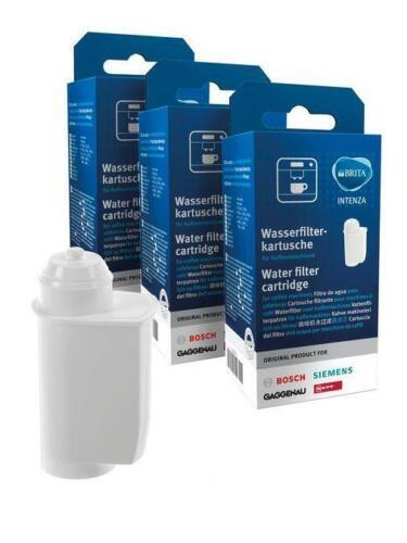 tcz7003 Water Filter for Siemens Bosch Coffee Machine 3x Brita Intenza tz70003