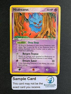 POKÉMON MISDREAVUS 40//92 COMMON NM CARD  EX  LEGEND MAKERS