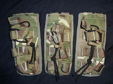 3X British Army Osprey MK4 SINGLE Elastic Securing Magazine Pouch MTP - USED