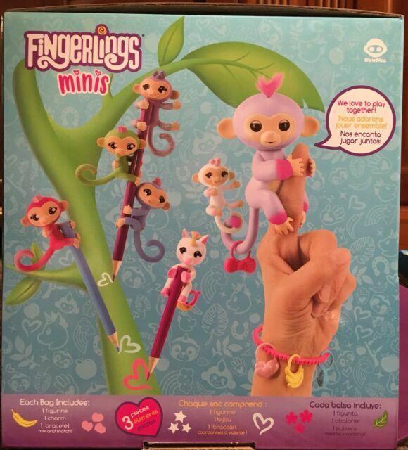 Fingerlings Minis Blind Bag Series 1 Mini Marge Sloth Legendary RARE Figure
