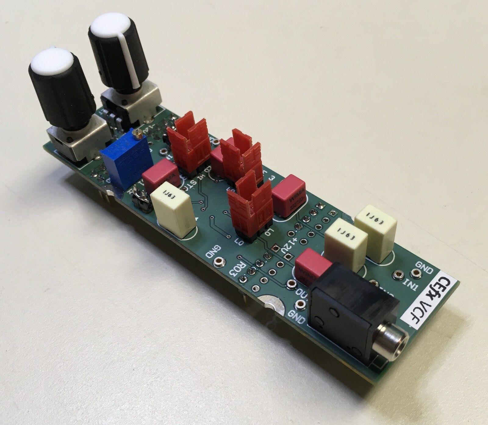CEfx Solderless Breadboard VCF SyntheGrößer Module - Voltage Controlled Filter