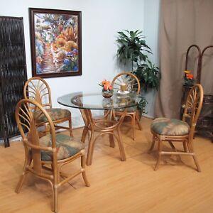 Image Is Loading Honey Sundance Rattan Dining Furniture 5 Piece Set