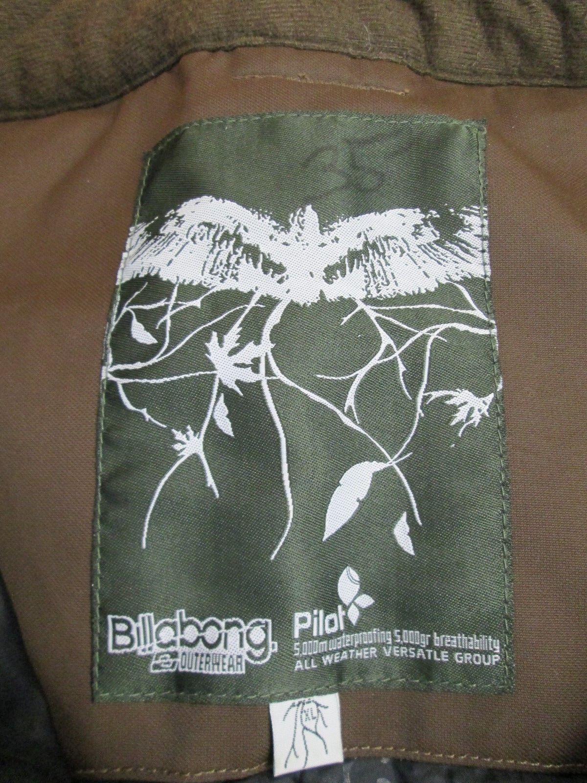 BILLABONG Pilot Brown Snowboard Ski   Snow Pants Size  M Large  sale outlet