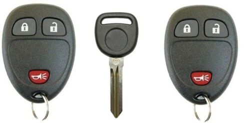 NEW REPLACEMENT KEYLESS ENTRY REMOTE FOB FOR 3 BUTTON OEM ELECTRONICS KEY