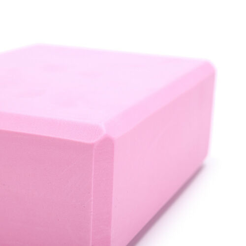 yoga block exercise fitness sport props foam brick stretching aid home pilate  X