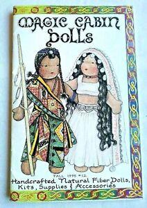 Vintage Magic Cabin Dolls Catalog Fall 1995 12 Waldorf Cloth Dolls Crafts Ebay