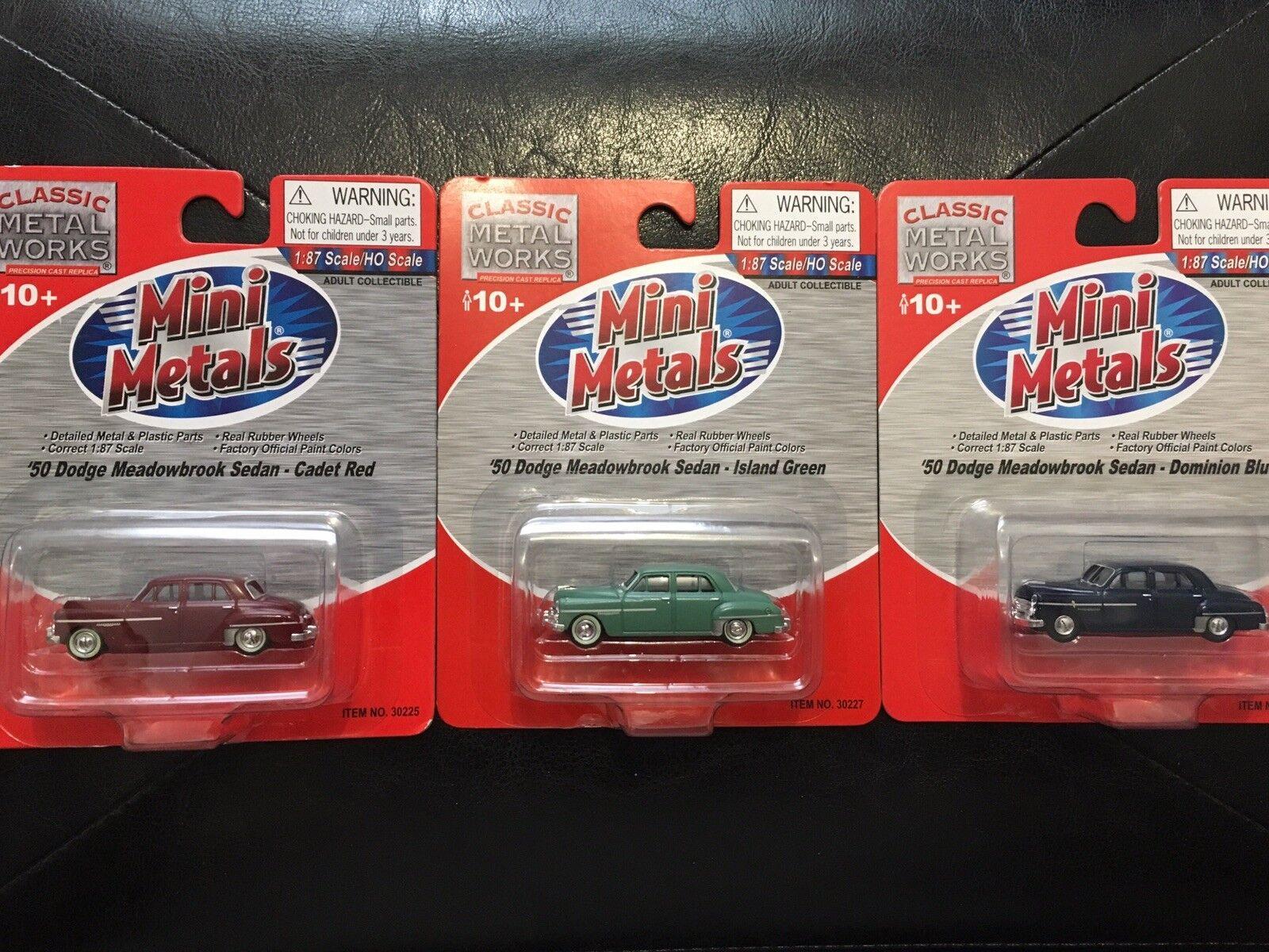 Viele  50 dodge meadowbrook limousine 30225 30227 30248