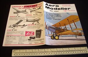 Vintage Aeromodeller Magazine (Sept 1968). Engine Test McCoy Custom 19 Glowmotor