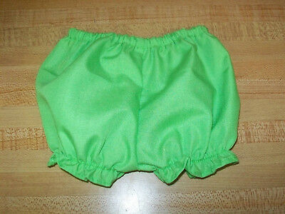 "TURQUOISE or BLUE BLOOMERS PANTY PANTIES for 15-16-18/""CPK Cabbage Patch kids"