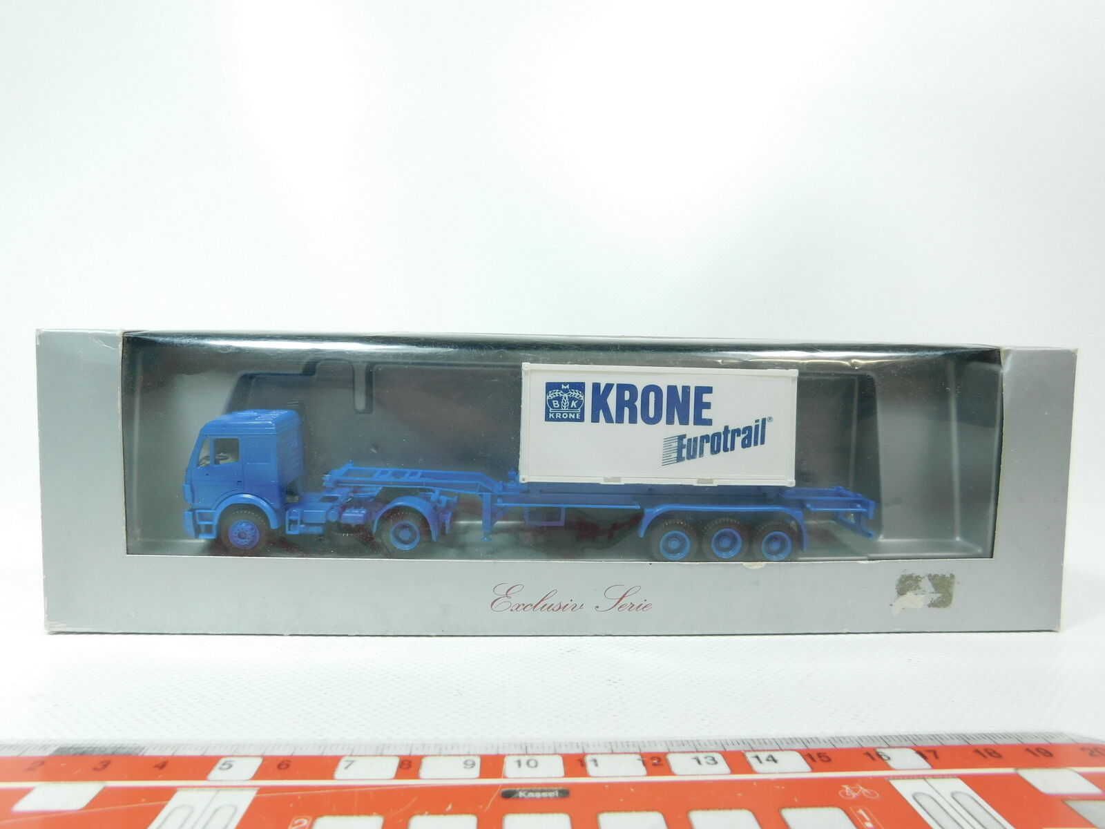 BH53-0, 5 Herpa Exclusive Series H0   1 87 Lorry MB Crown Euredrail, Nip