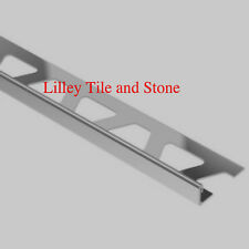 Homelux 12.5mm 2 Pack Stainless Steel Square Edge Tile Trim Cornerpieces