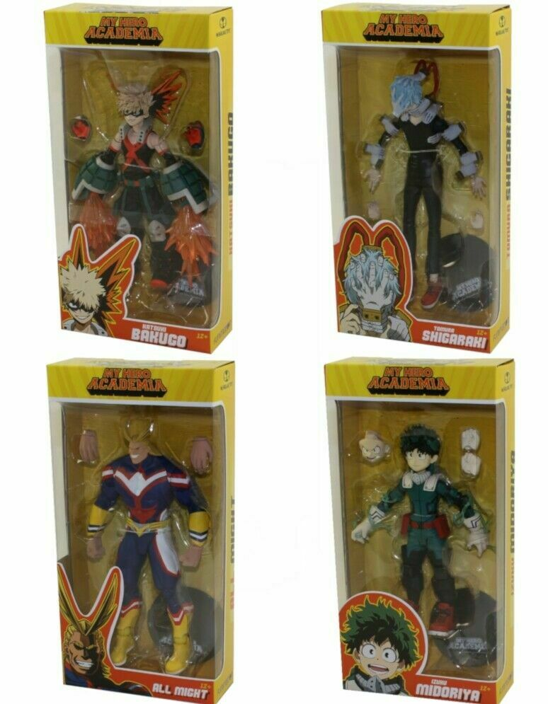 McFarlane giocattoli azione cifras  My Hero Academia S1  Full Steard Set