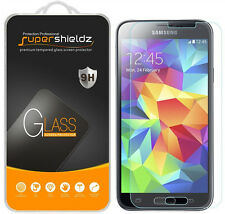 2X Supershieldz Tempered Glass Screen Protector Saver For Samsung Galaxy S5 Mini