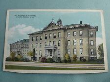 St Michael's Hospital GRAND FORKS NORTH DAKOTA ND PreLinen Postcard