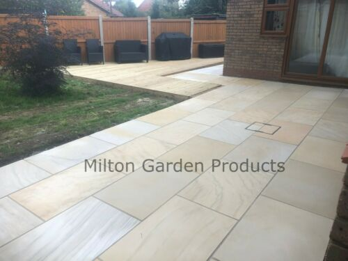 Mint Ivory Smooth 1m2 900x600 Sawn Honed Indian Stone *READ DESCRIPTION*