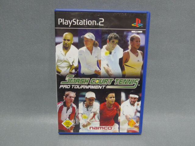 Playstation 2 - Smash Court Tennis Pro Tournament - Neuwertig - PS 2