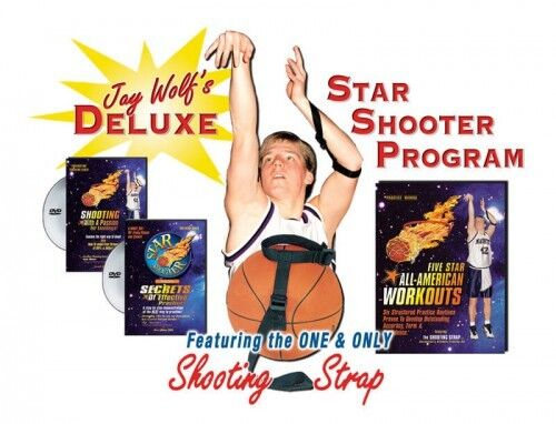Star Shooter Deluxe Program COMPLETE Basket Shooting Entraînement Entraînement Entraînement Système 5a3b05
