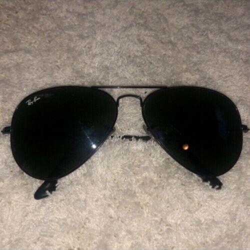 rayban sunglasses RB3025 black size 58MM