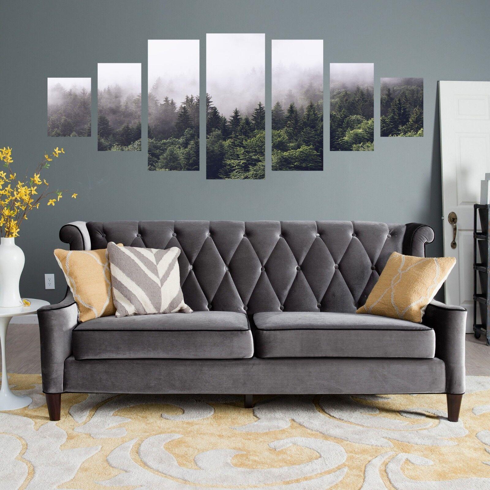 3D Mist Mountain 123 Unframed Print Wall Paper Deco Indoor AJ Summer