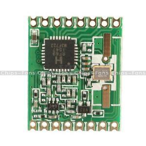 RFM69HW 868Mhz/433Mhz/915Mhz + 20dBm HopeRF sans fil émetteur-récepteur pour télécommande/hm