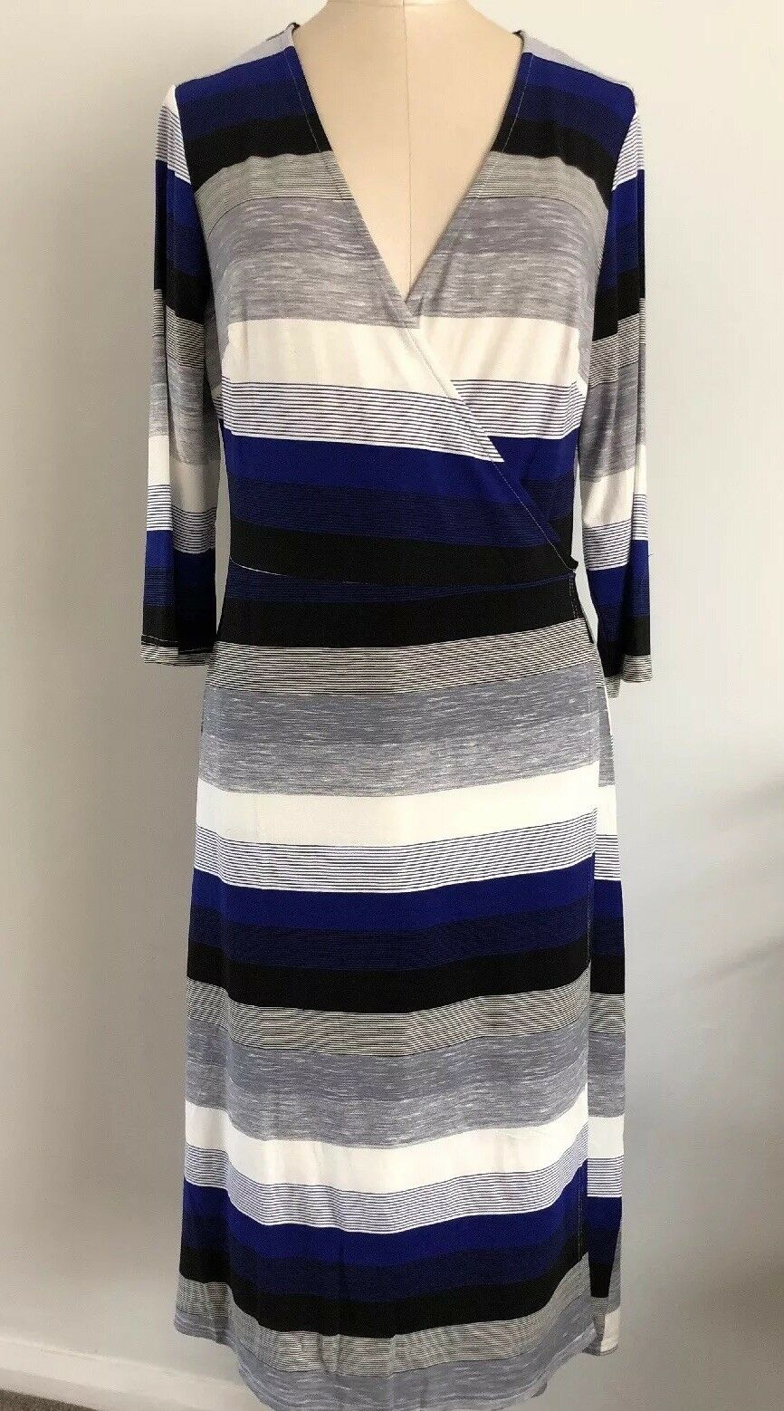 Innocence 00500 Women's Wrap Midi Dress Size 12