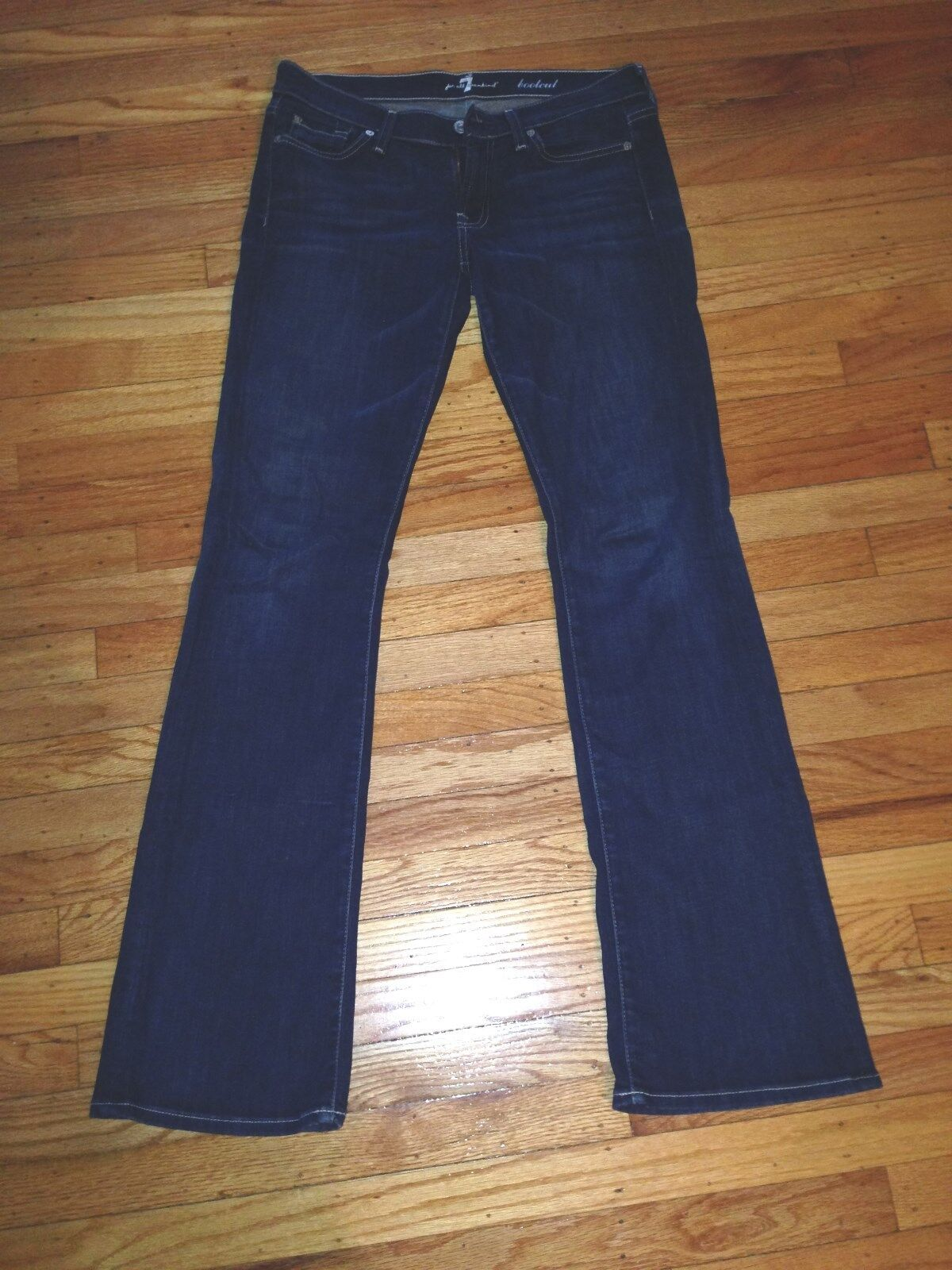 7 FOR ALL MANKIND BOOTCUT COTTON LADIES JEANS SIZE 27
