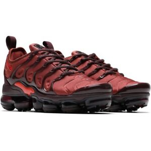 9c861166db042 AO4550-201  WOMEN S NIKE AIR VAPORMAX PLUS BURNT ORANGE  NEW
